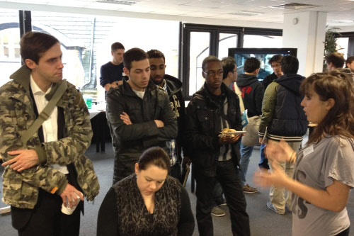 City event brings computing students and digital start-ups together