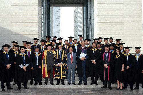 Third cohort of Cass Dubai EMBA students graduate