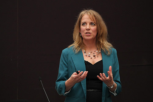 Professor Susan Ayers delivers inaugural lecture