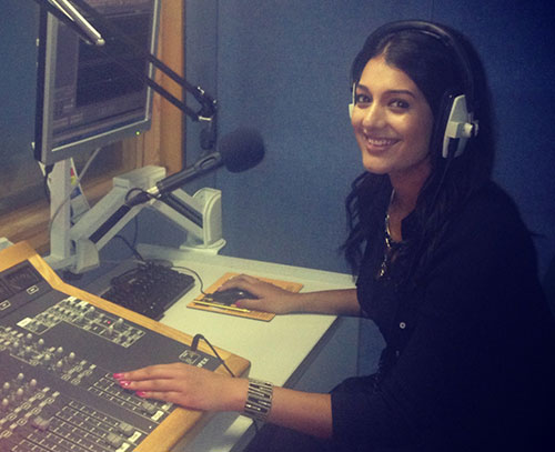 Kiran Kaur studied Journalism BA at City