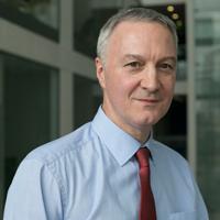 portrait of Professor Chris Hull