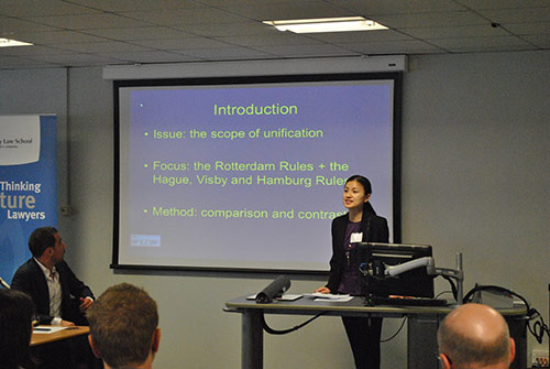 The Maritime Law and Policy International Postgraduate Research Conference 2014