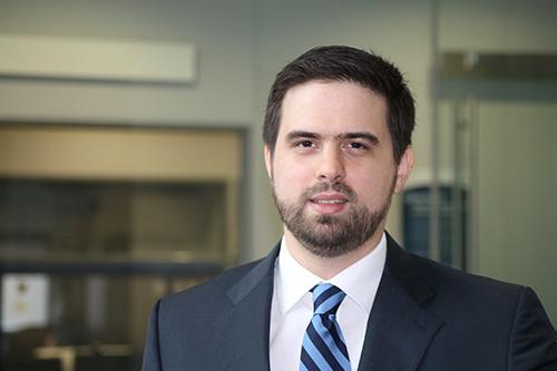 PhD student Dimitrios Arvanitis