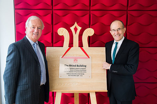 Rhind Building Opening