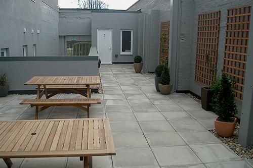 Courtyard in WIllen House