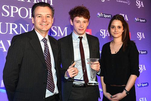 David Welch Sports Writer of the Year Award 2015