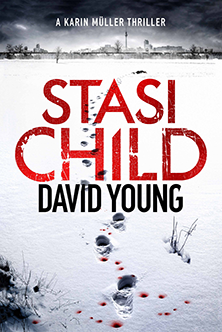 City Alumni David Young has been offered a three-book deal, with his debut novel Stasi Child due to be published as an ebook in October 2015