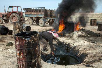 Syrian oil field