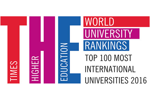 Times Higher Education World University Rankings Top 100 Most International Universities 2016