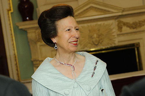 HRH The Princess Royal at the Chancellor's Dinner