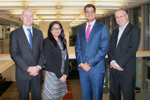 Krishna Mepani, Aditya Sanghvi and Ben Rickayzen