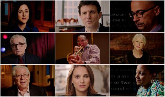Pulitzer 100 screening: grid of winners including Natalie Portman and Helen Mirren