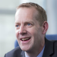 Portrait of Dr Nick Motson