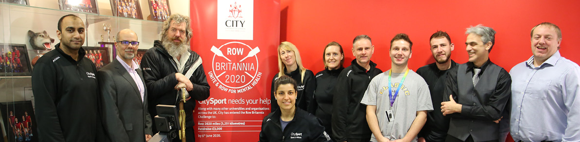 City, University of London Row Britannia challenge