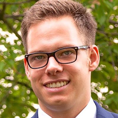 Marius Knecht smiling