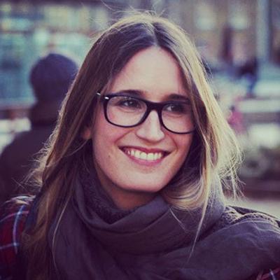 Lucia Cavero-Baptista smiling