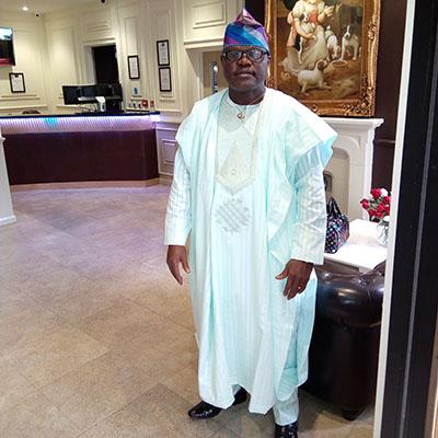 Bode Adewoju is an alumni ambassador