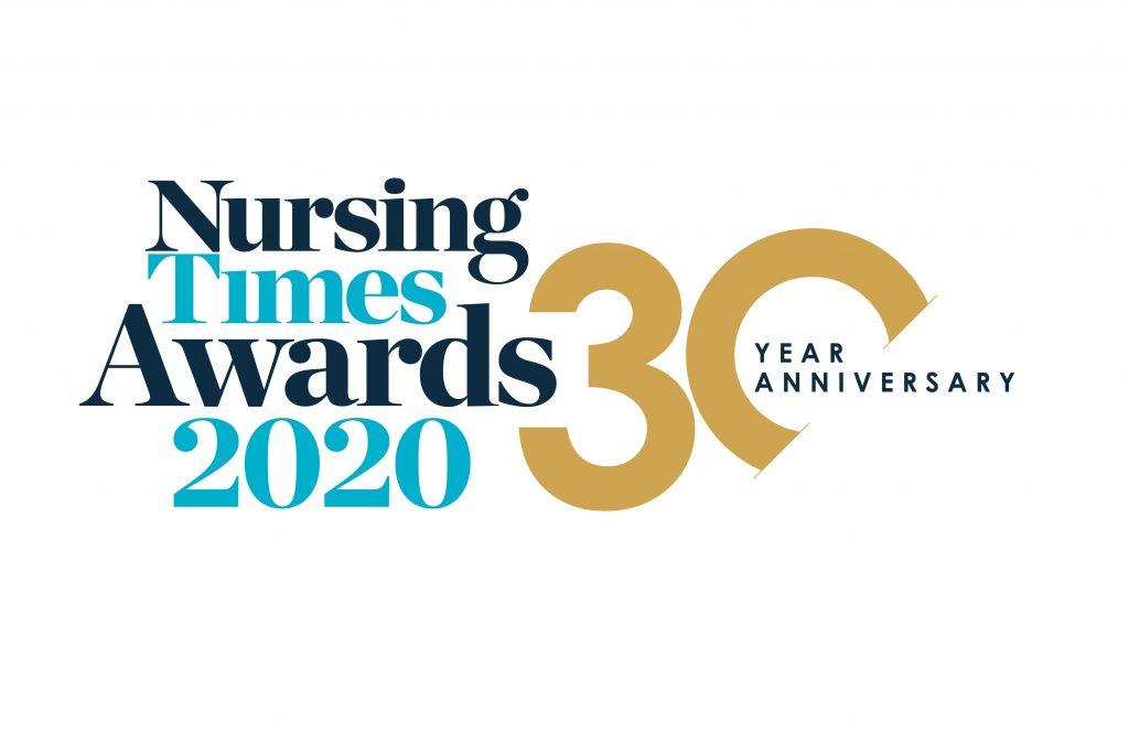 Nursing Times Awards 2020 logo