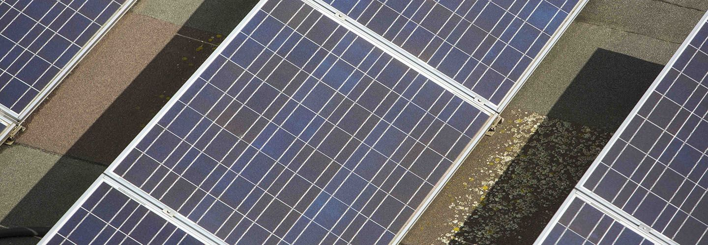 Solar panels on City, University London buildings for sustainability initiative