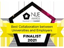NUE Awards - Best collaboration between universities and employers, Finalist 2021