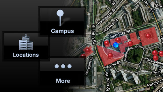 iphone app at city university london