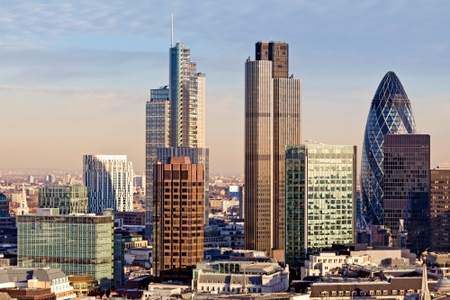 Tall buildings in the City of London