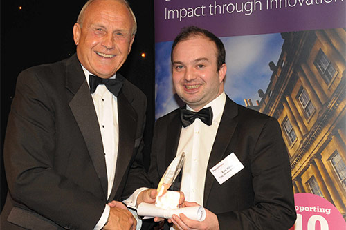 City achieves double success in university enterprise honours