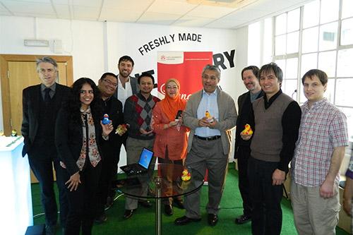 Malaysian delegation group photo