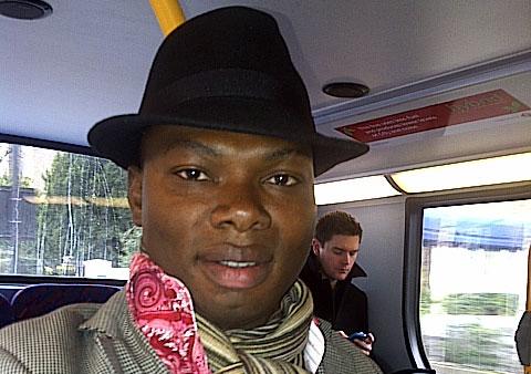 City MA  Sociology student David Nkpe