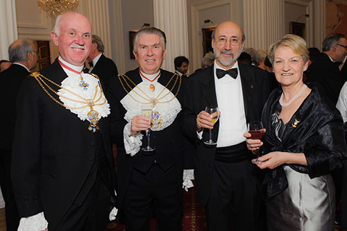 Guests at Chancellor's Dinner 7