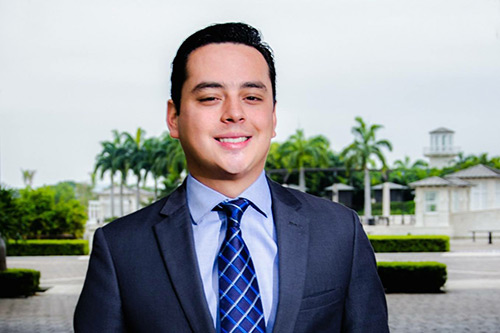City Law School alumn Fabrizio Garcia Bacigalupo