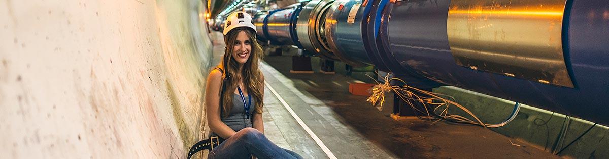 Anna Pantelia at CERN