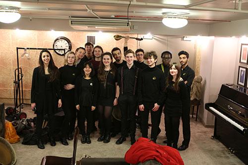 City University Music Department students