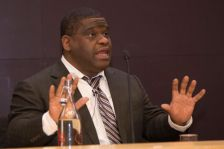 Gary Younge speaking at the James Cameron Lecture