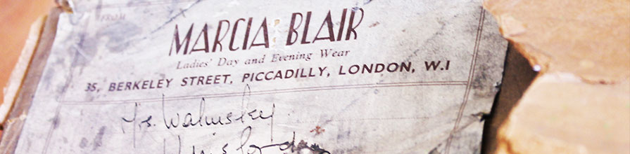 Marcia Blair Ladies Day and Evening Wear, 35 Berkeley Street, Piccadilly, London, W.1