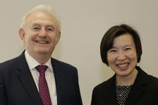 Professors Tong Sun and Ken Grattan