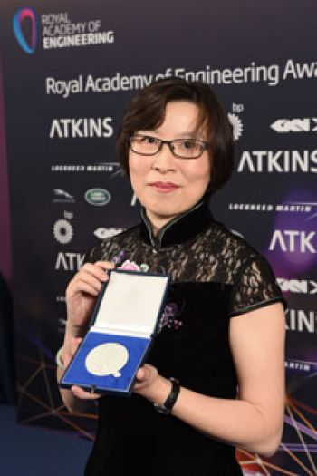 Professor Tong Sun has won the Royal Academy of Engineering Silver Medal of Excellence Award for outstanding research in engineering