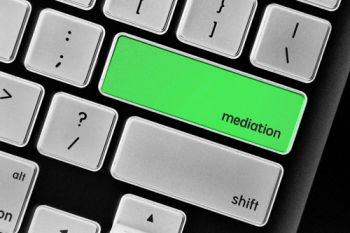 Mediation key on a computer keyboard