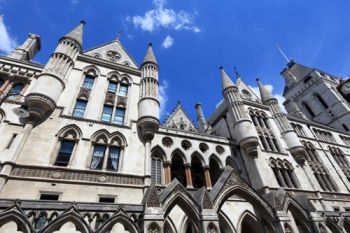Royal courts of justice. Article 50