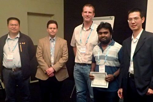The City Computer Vision Group. Best Paper Award