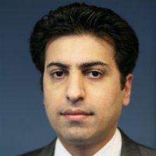 Portrait of Dr Navid Izady