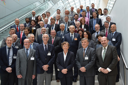 Dr Ivan Sikora with group at OECD conference