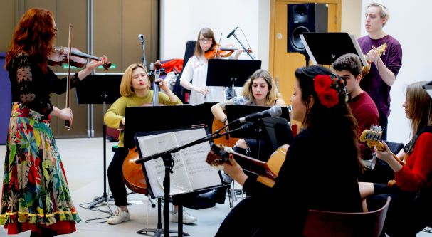 City Balkan Ensemble: Lunchtime Concert | City, University of London
