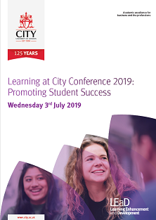 Front page of the LEaD 2019 brochure