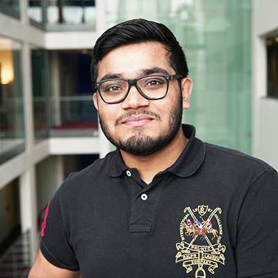 Yamin Miah is a BSc Computer Science student