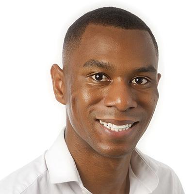 Adam Campbell smiling