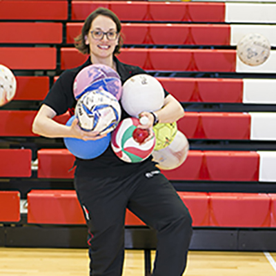 Emma Price is a Leisure Supervisor – Recreation at CitySport.