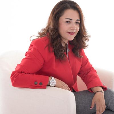 Maria Mavroudi is an alumni ambassador