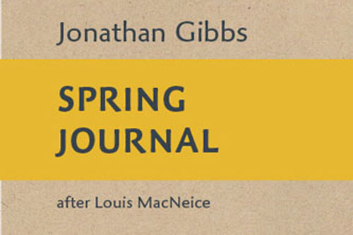 Spring Journal by Dr Jonathan Gibbs
