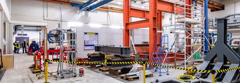 Interior of engineering labs
